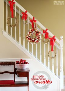Easy Christmas Decorations when renting